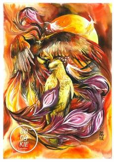 Garuda Phoenix, ©2016 by Jongkie
