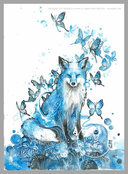 Blue Fox ©2016 by Jongkie