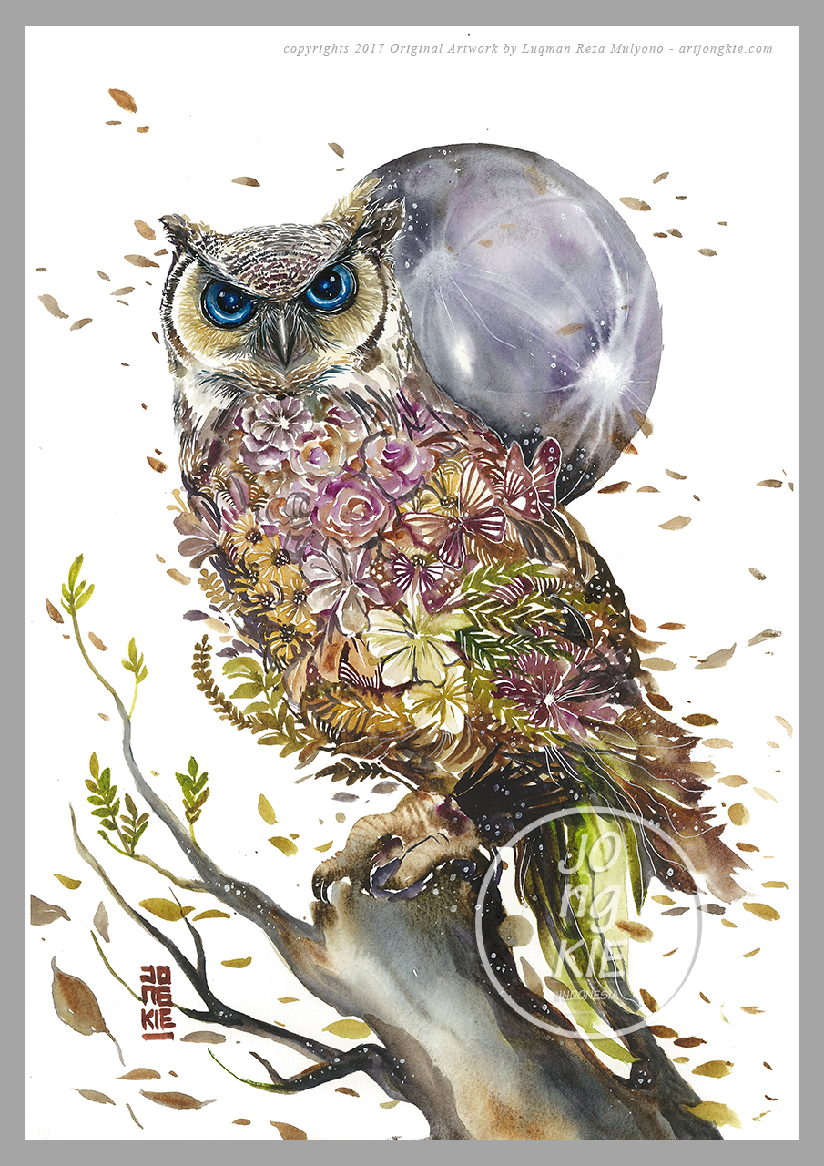 Owl 02 by Jongkie