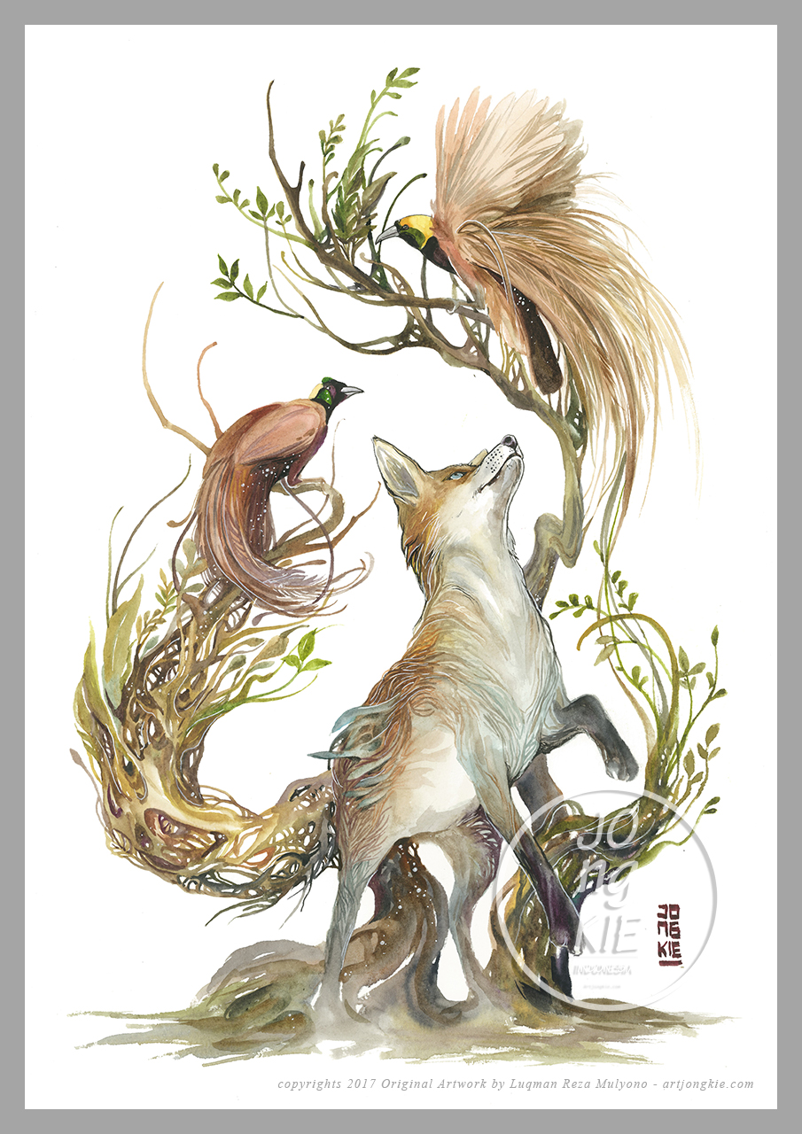 suri05 - Red Fox by Jongkie